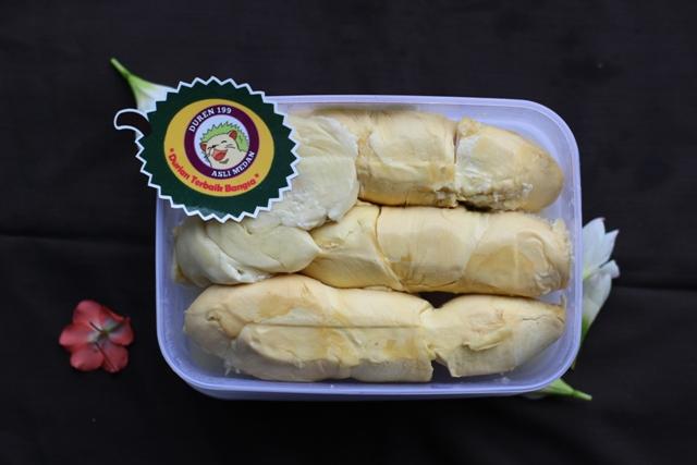 Durian kupas medan termurah